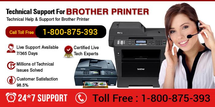 Brother Printer 1800-875-393 Customer Care Number
