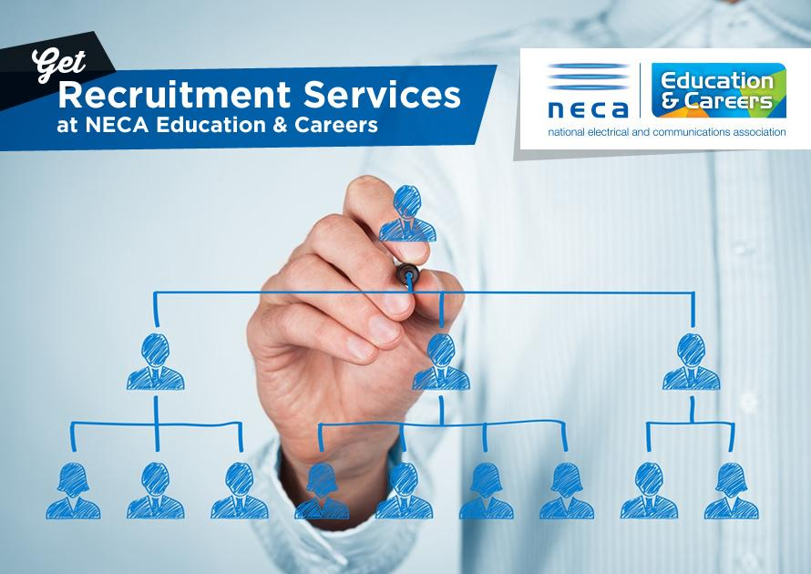 Get Recruitment Services at NECA Education & Careers