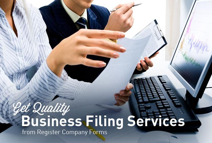 Get Quality Business Filing Services from Register Company Forms