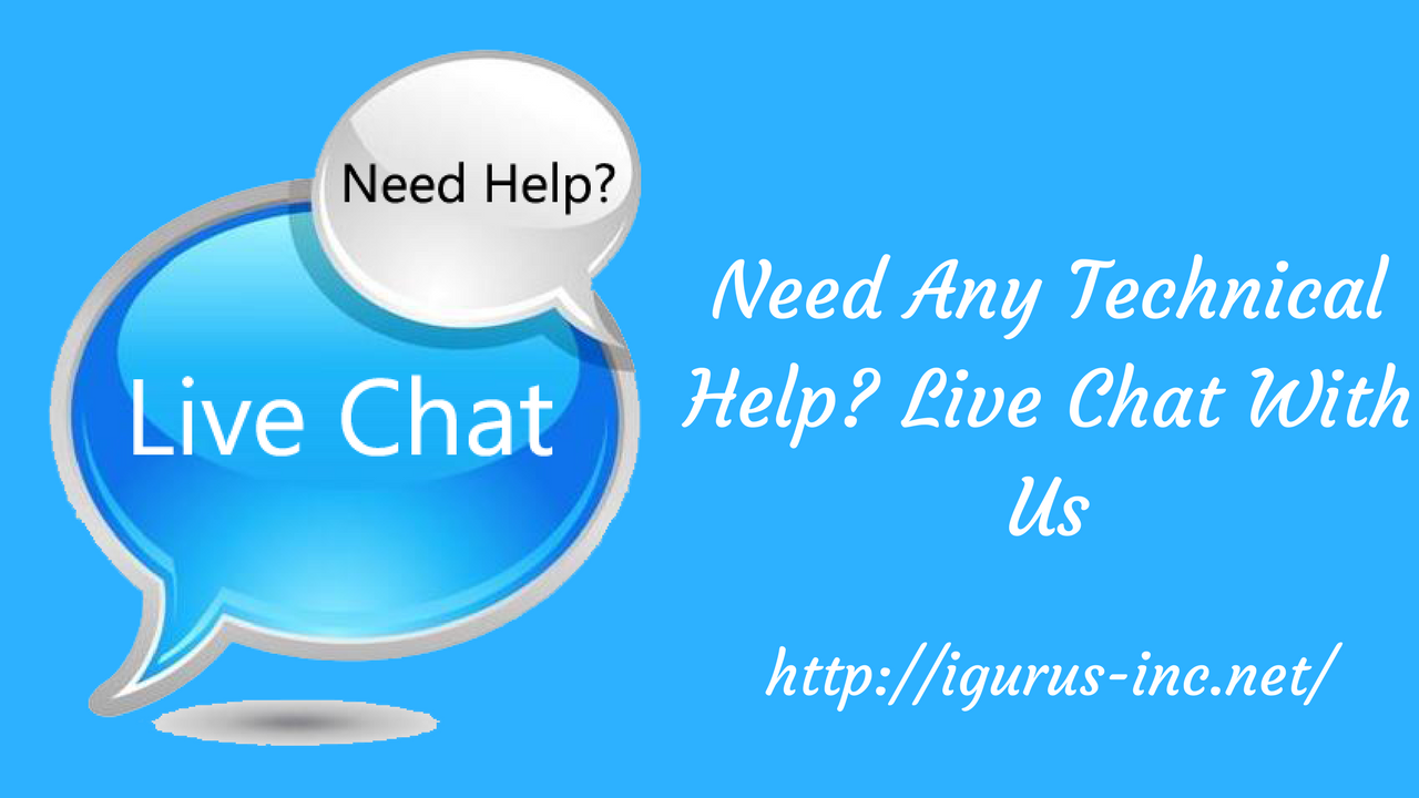 Live Chat Tech Help For Social Account Solution