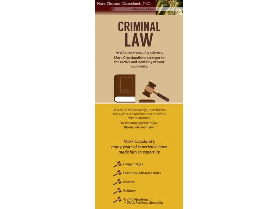 Mark Thomas Crossland – A Successful Criminal Attorney in Prince William County