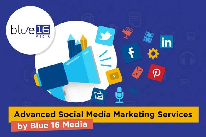 Advanced Social Media Marketing Services by Blue 16 Media