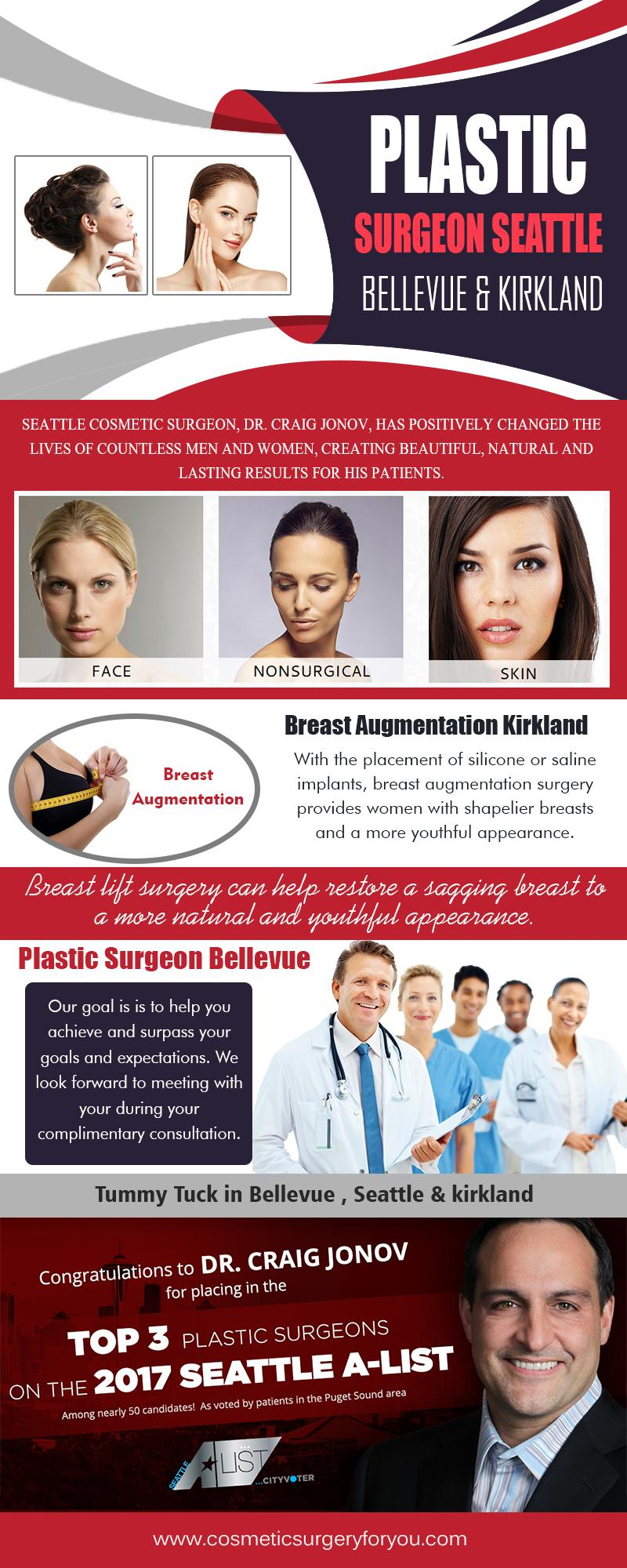 Plastic Surgeon Seattle , Bellevue & Kirkland