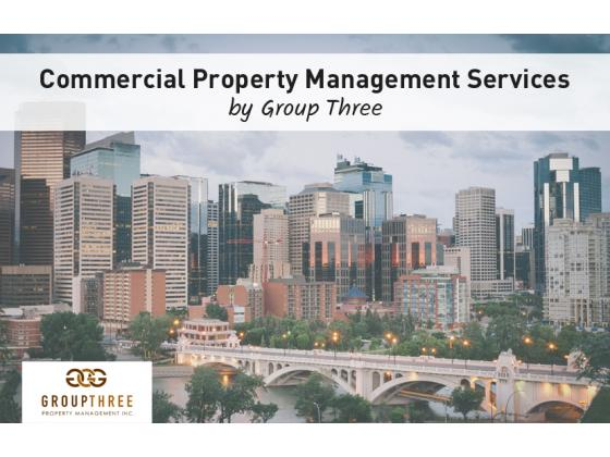 Commercial Property Management Services by Group Three