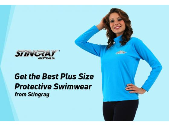 Get the Best Plus Size Protective Swimwear from Stingray