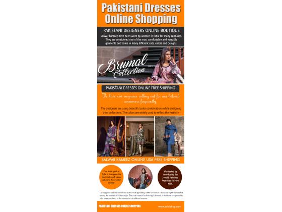 Hottest fashion pakistani dresses for sale online in USA}