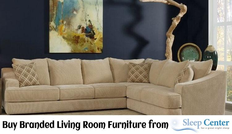 Buy Branded Living Room Furniture from Sleep Center