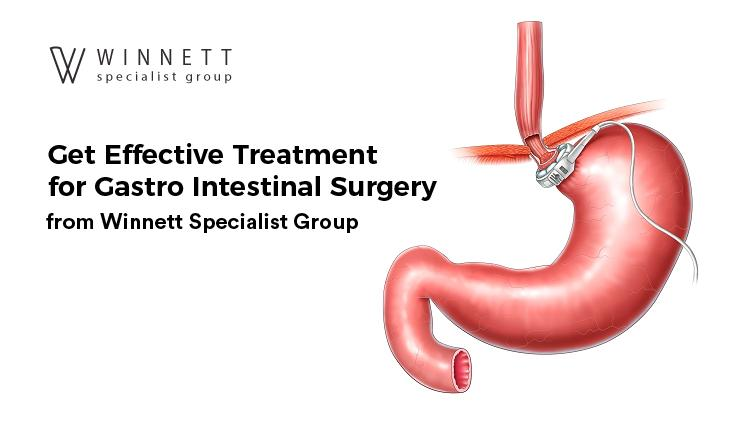 Gastro Intestinal Surgery from Winnett Specialist Group