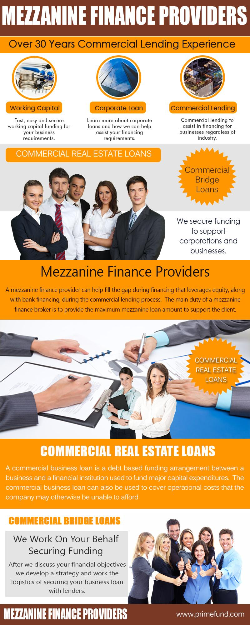 Mezzanine Finance Providers
