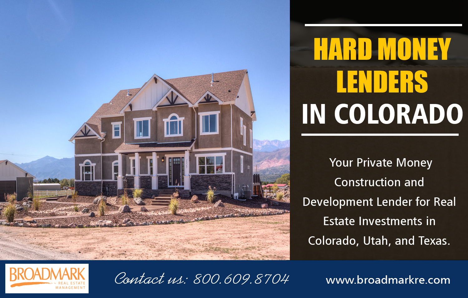 Hard Money Lenders in Colorado