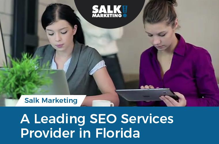 Salk Marketing - A Leading SEO Services Provider in Florida
