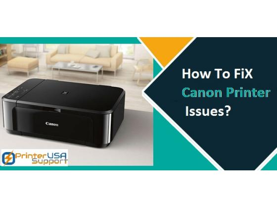 How to Fix common Canon Printer Issues?