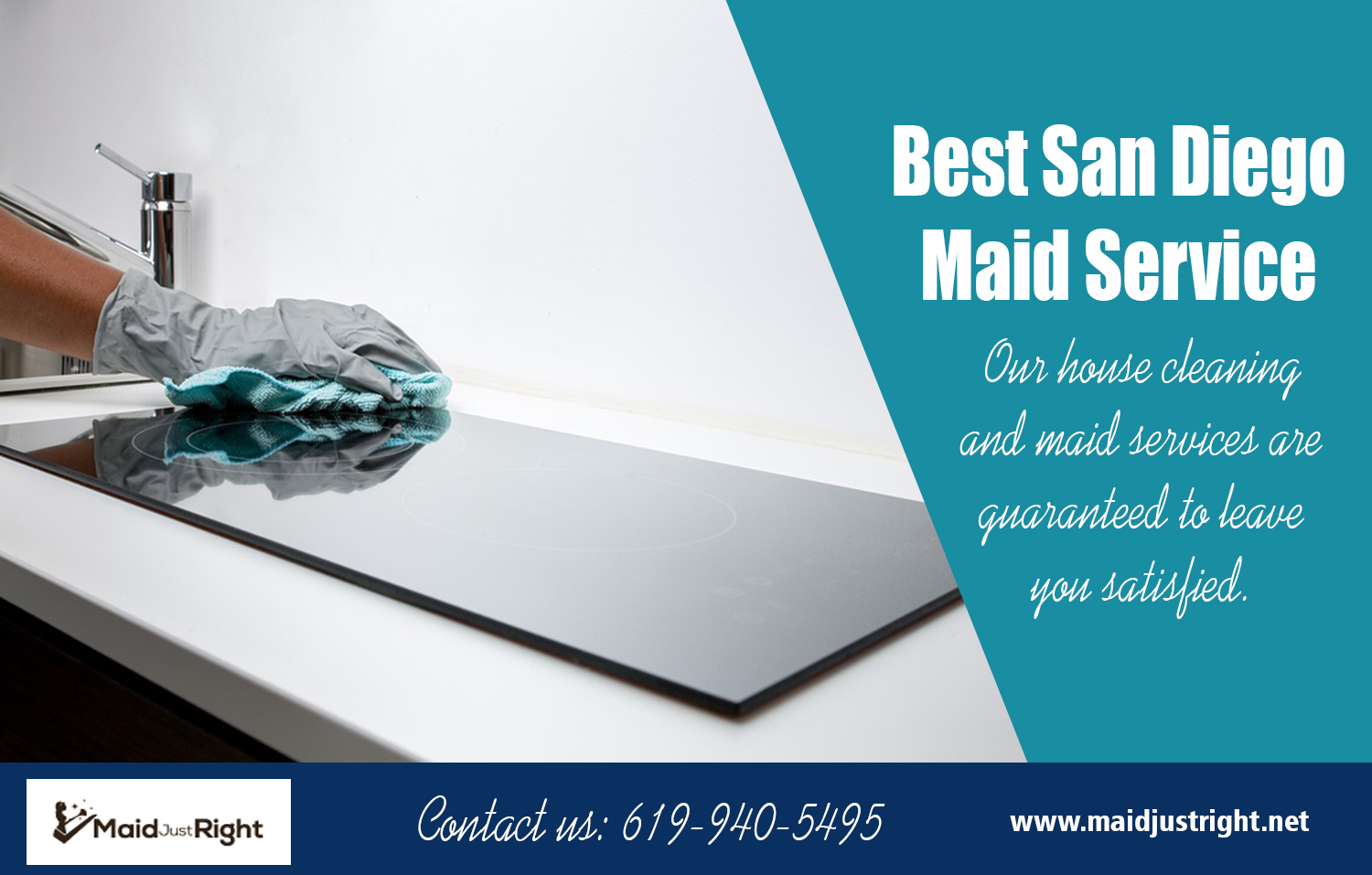 Best San Diego Maid Service | Call Us - 619-940-5495 | maidjustright.net
