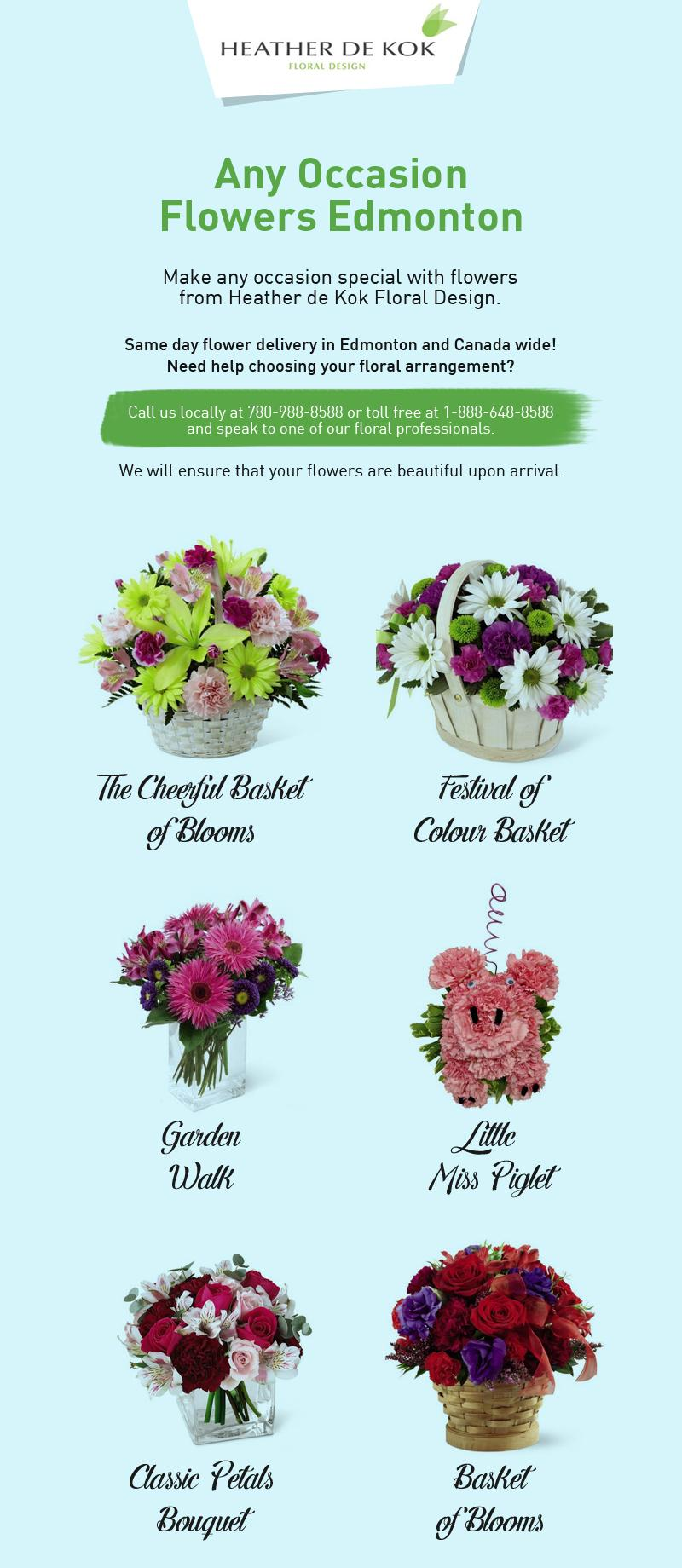 Make Your Occasions Memorable with Canada Floral Delivery's Flowers