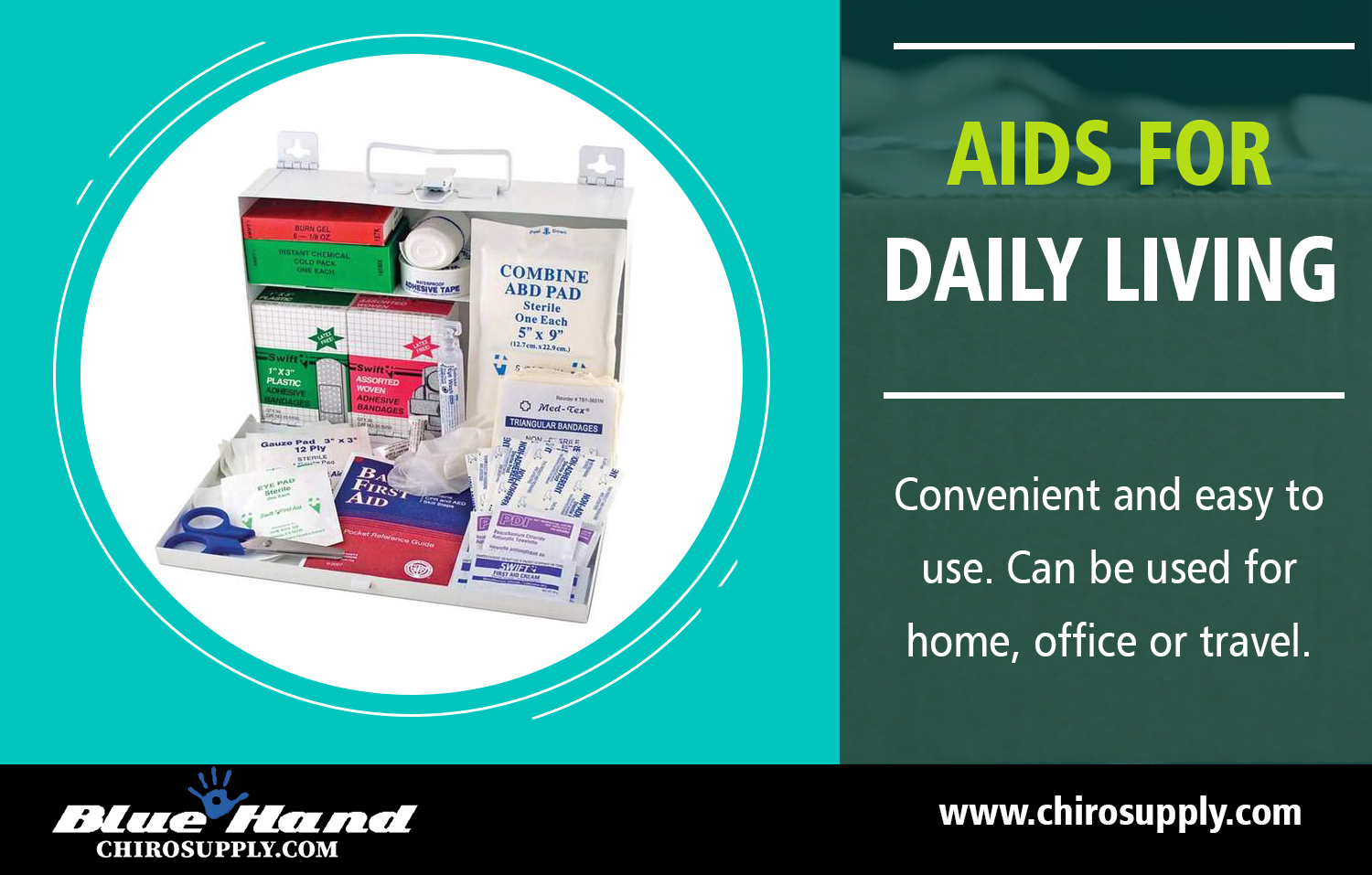 Aids for Daily Living | 8775639660 | chirosupply.com