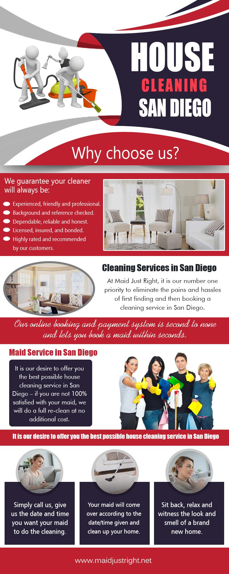 House Cleaning San Diego | https://www.maidjustright.net (619) 940-5495