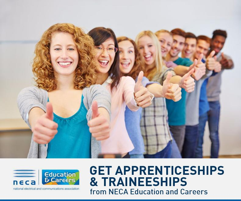 Get Apprenticeships & Traineeships from NECA Education and Careers
