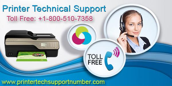 To get Printer Technical Suppport Service Dial 1800-510-7358