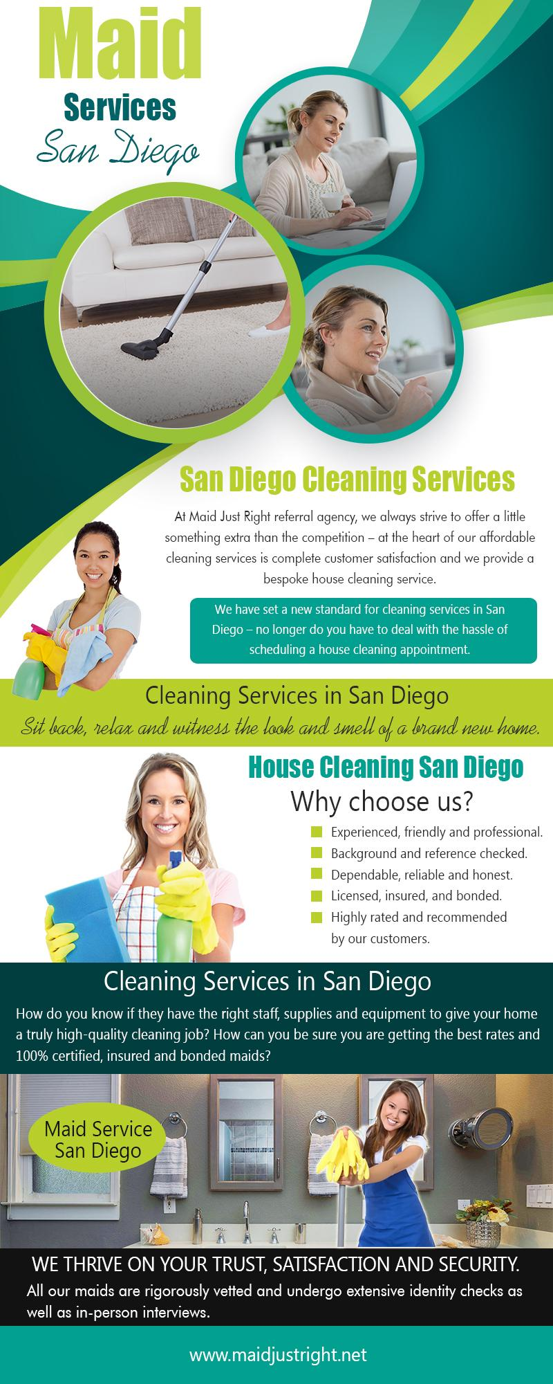 Maid Service San Diego (2) | https://www.maidjustright.net (619) 940-5495