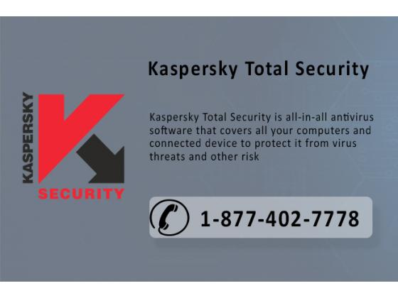 Support 1-877-402-7778 for Kaspersky Total Security 2017