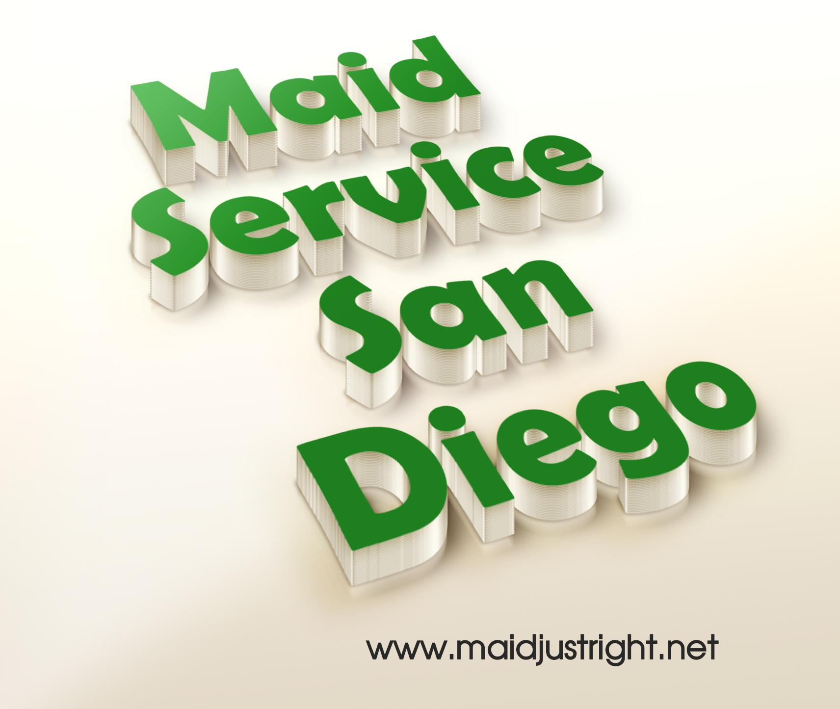 Maid Service San Diego | https://www.maidjustright.net (619) 940-5495