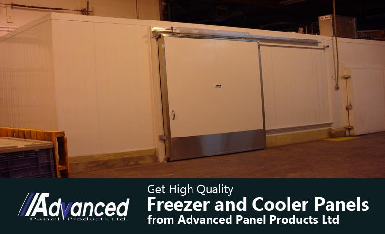 Get High Quality Freezer and Cooler Panels from Advanced Panel Products Ltd
