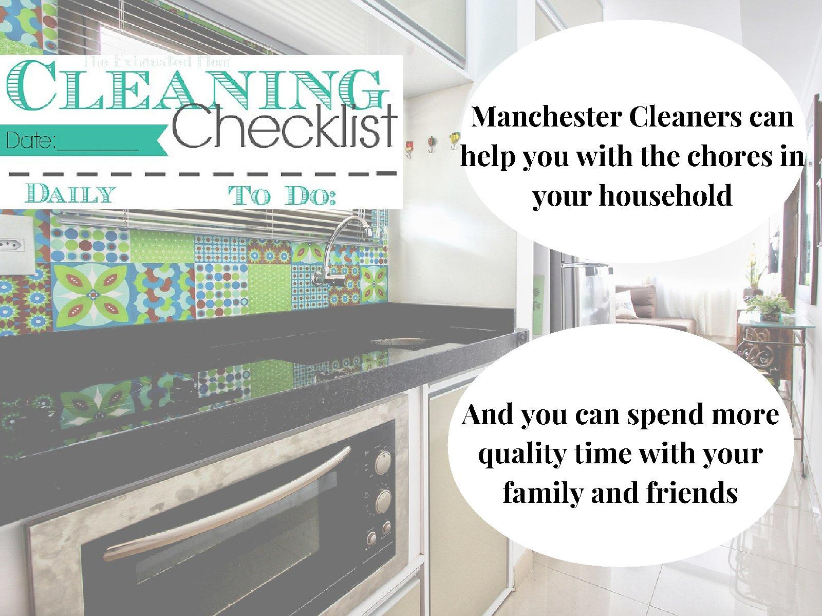 Licensed Cleaning Services in M24, Manchester