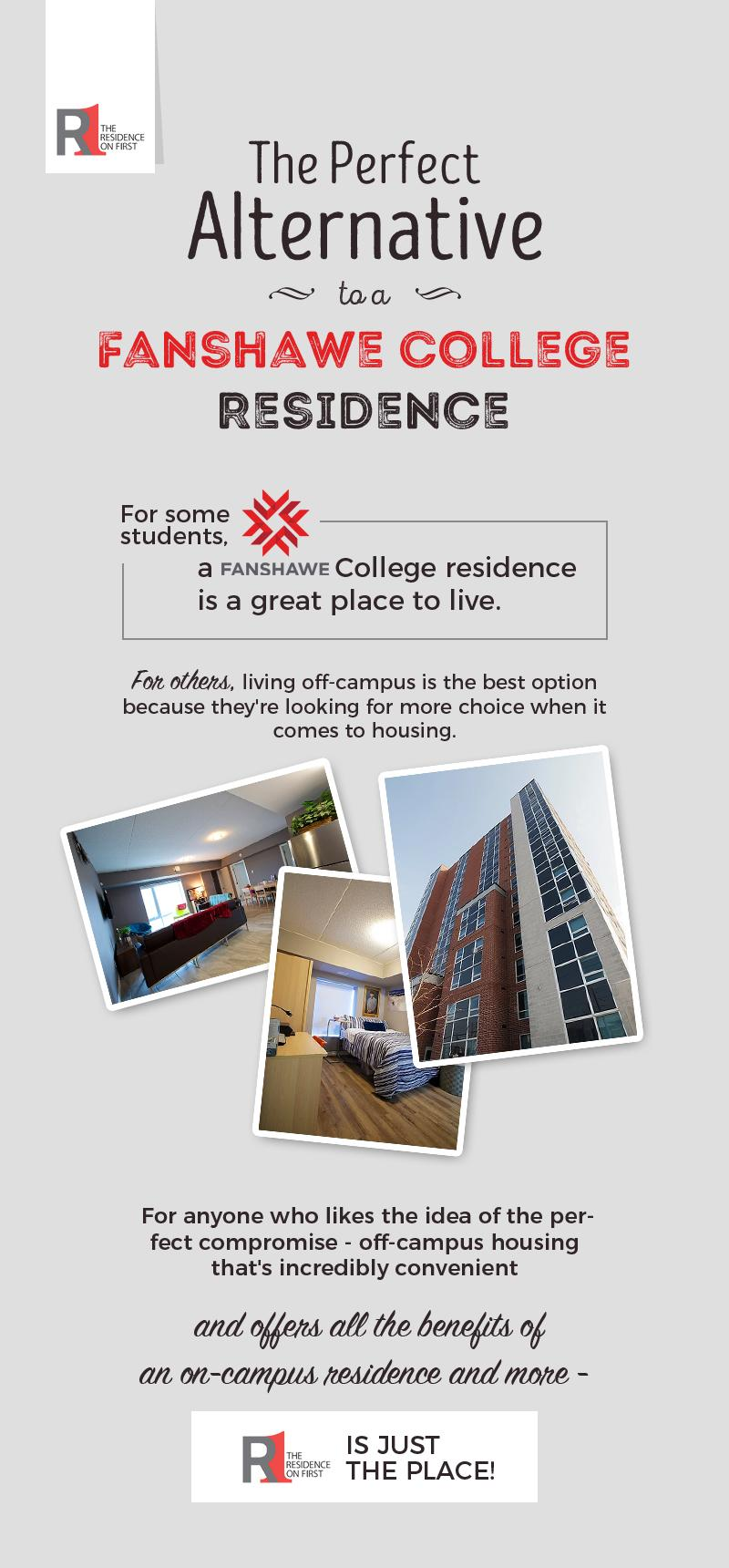 Residence on First - The Perfect Alternative to a Fanshawe College Residence