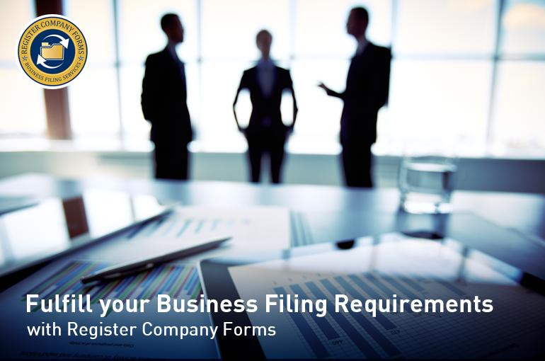 Fulfill your Business Filing Requirements with Register Company Forms