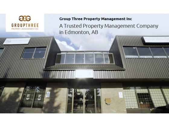 Group Three Property Management Inc – A Trusted Property Management Company in Edmonton, AB