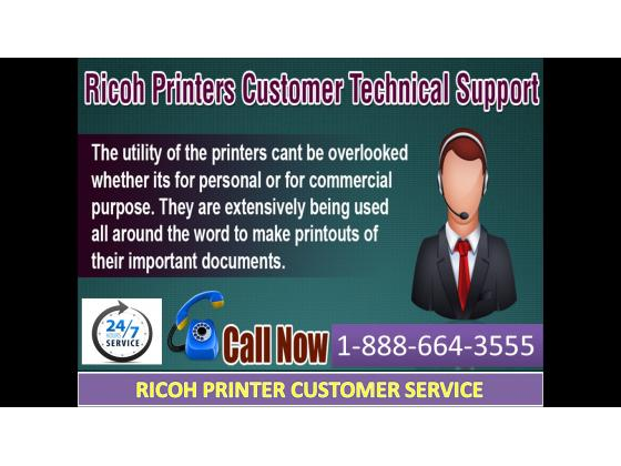 call the +1-888-664-3555 Ricoh Printer customer technical support number