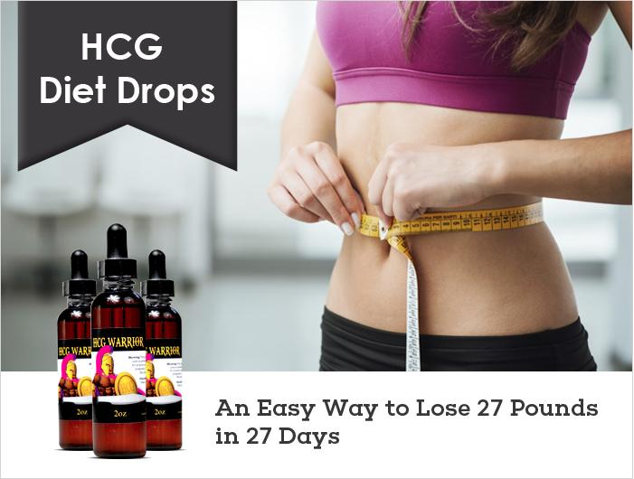 HCG Diet Drops – An Easy Way to Lose 27 Pounds in 27 Days