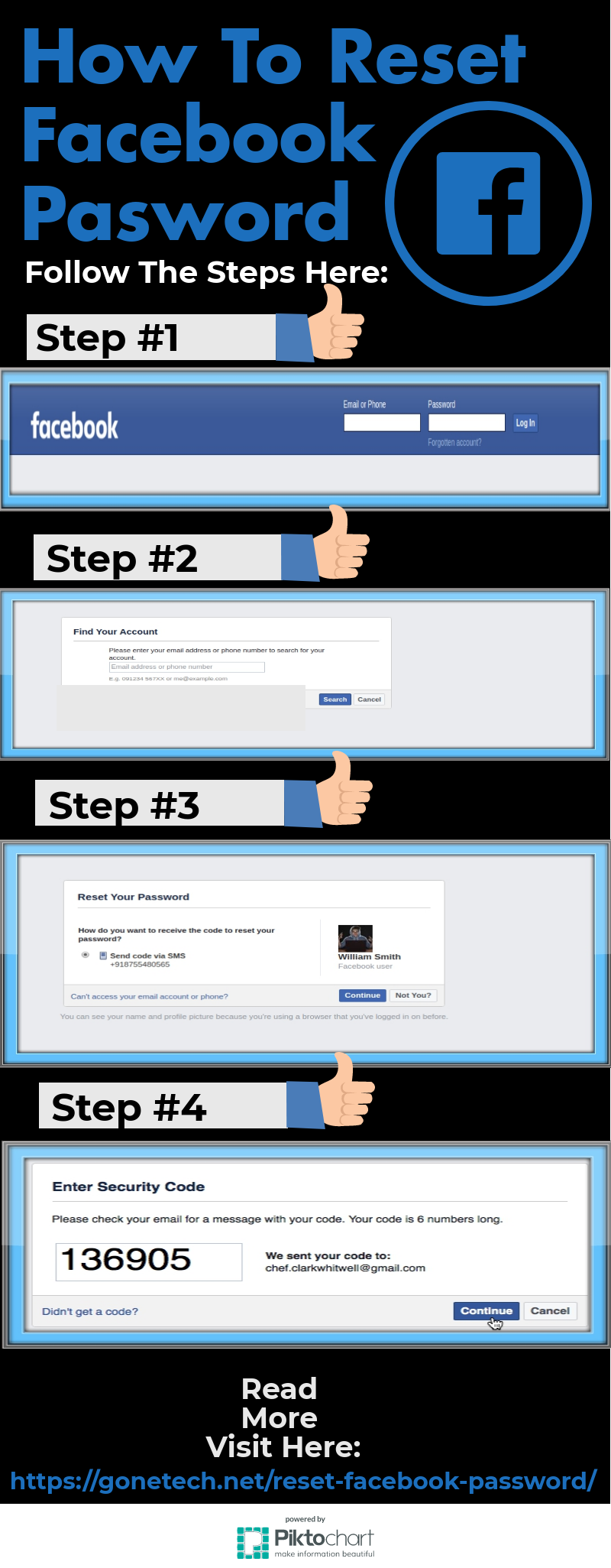 How To Easily Reset and Recover Facebook Password | You Must Have To See!!!