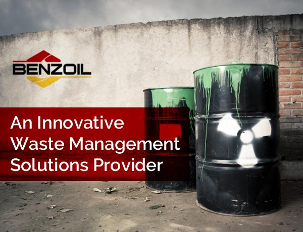 Benzoil – An Innovative Waste Management Solutions Provider