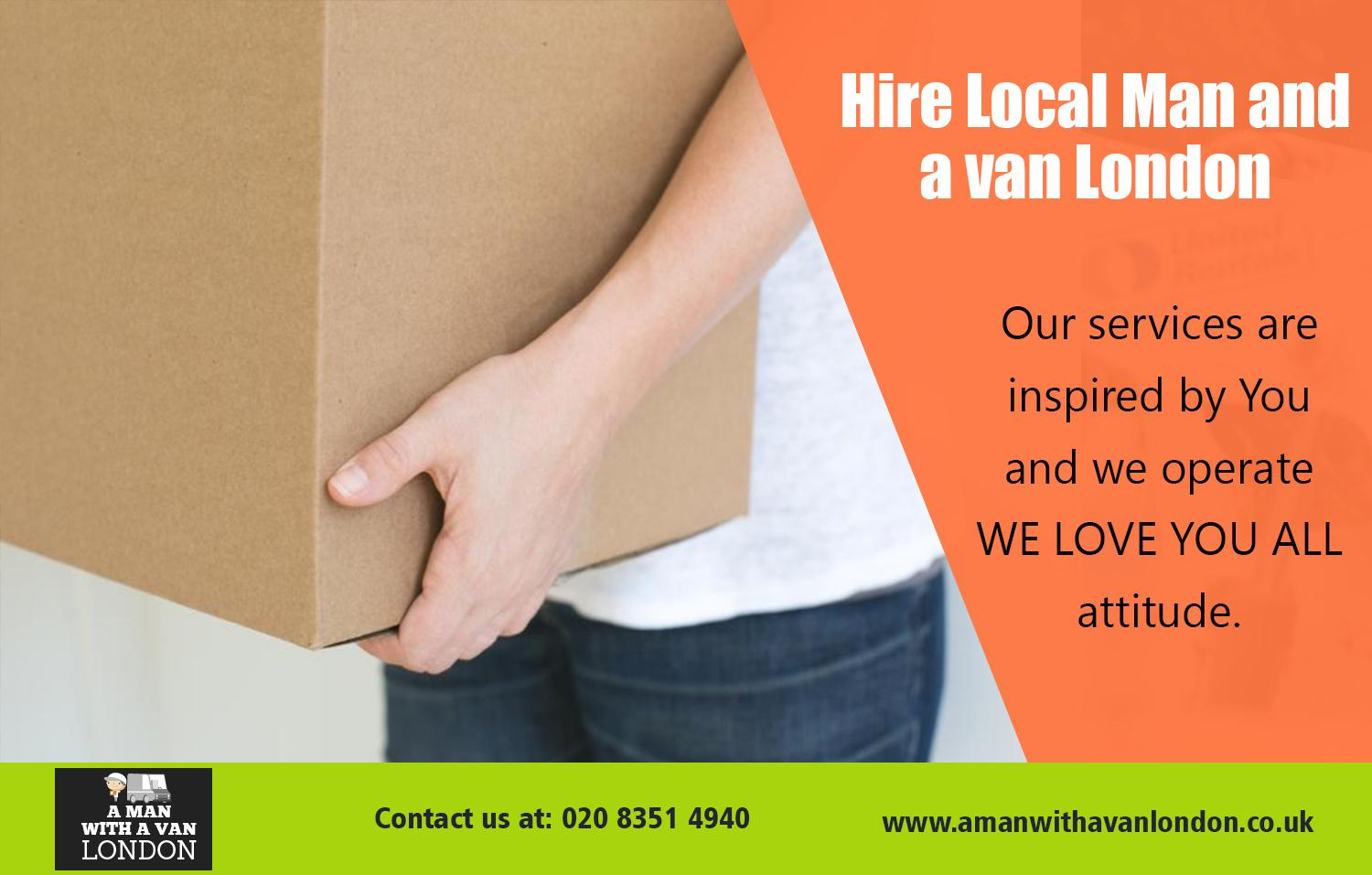 Hire Local Man and van