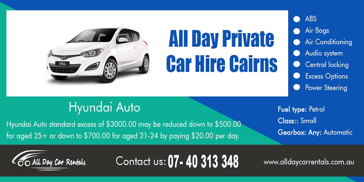 All Day Private Car Hire Cairns