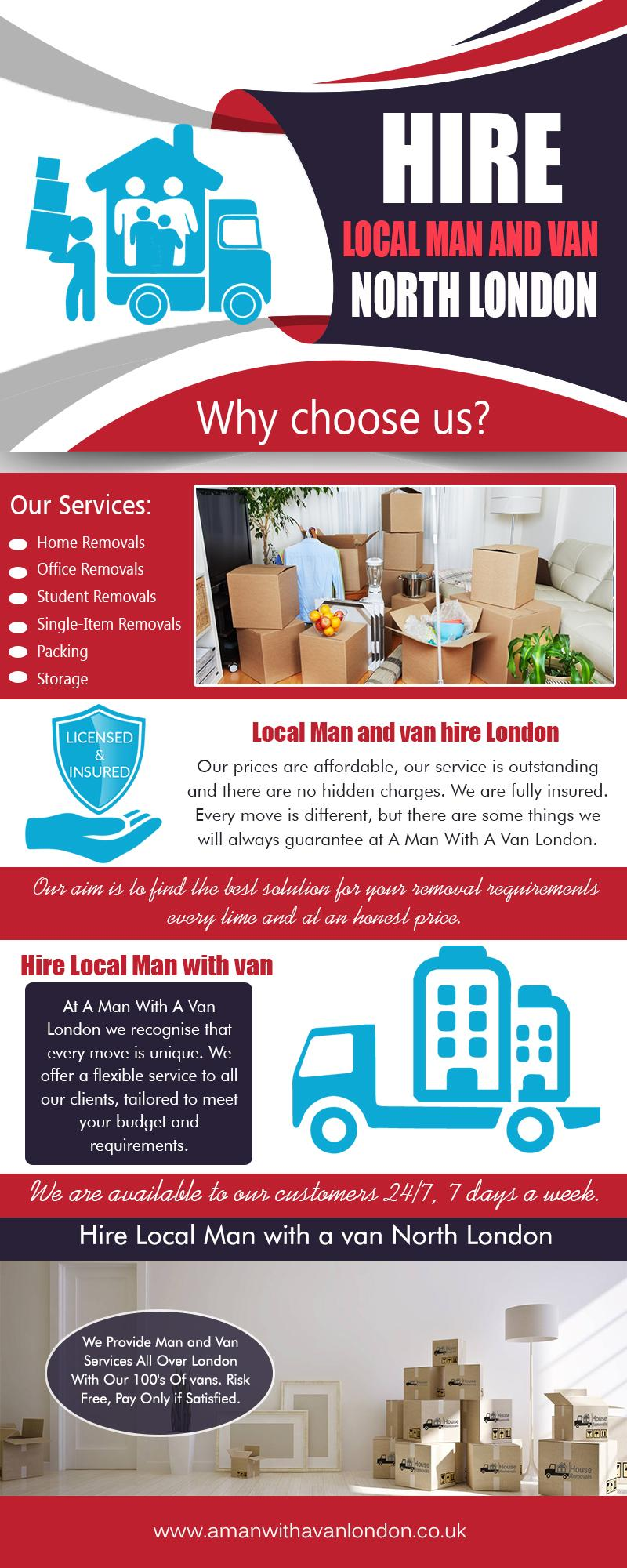 Hire Local Man with van London