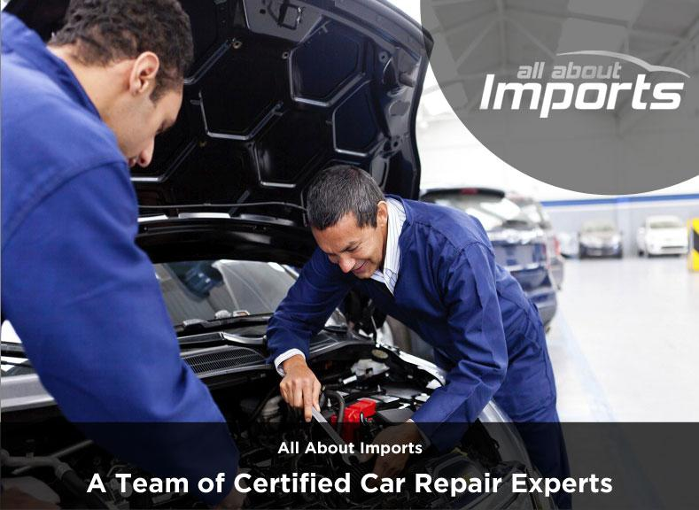 All About Imports – A Team of Certified Car Repair Experts