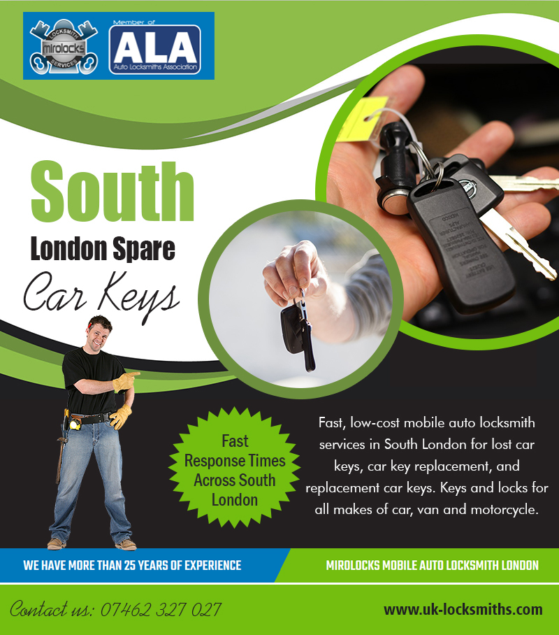 South London Spare Car Keys | Call - 07462 327 027 | uk-locksmiths.com