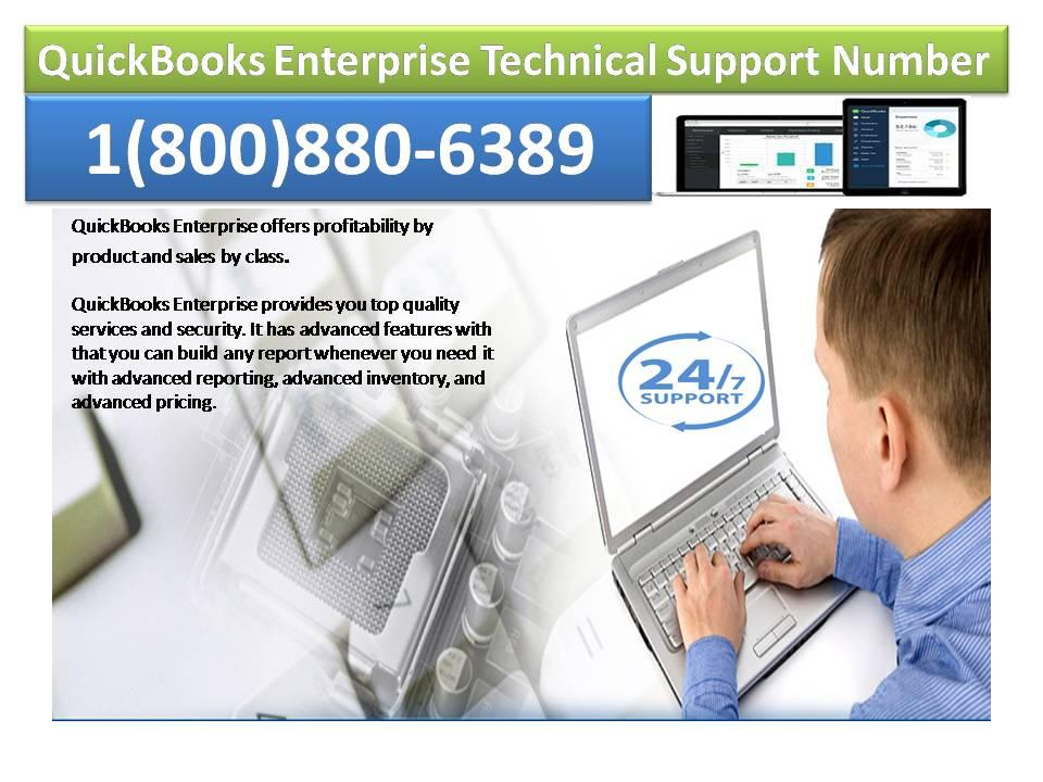 Get Easy way to solve errors with QuickBooks Enterprise Technical Support Number 1(800)880-6389