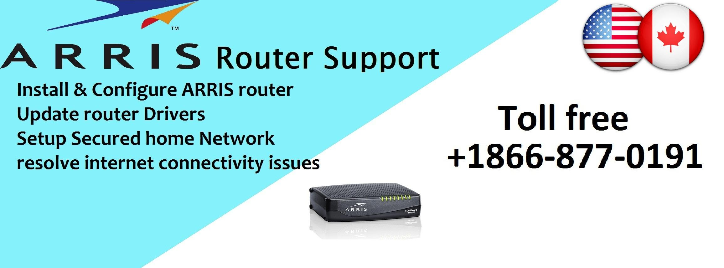 Arris technical support Via Router-help-support