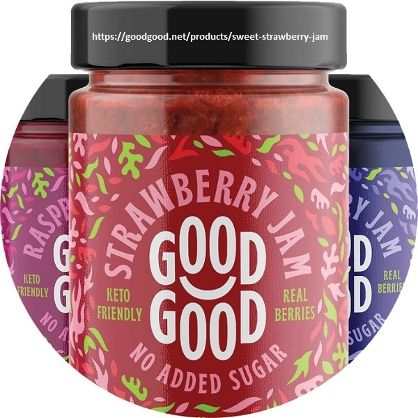 Sweet Strawberry Jam by Good Good