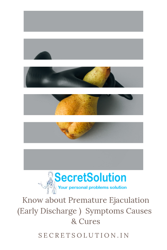 Premature Ejaculation - SecretSolution