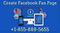How Can I Create Facebook Fan Page @+1-855-888-5655