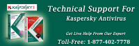 Toll-free Number 1-877-402-7778 for Kaspersky Technical Support