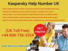 Kaspersky Technical Help Number UK 0800-756-3354