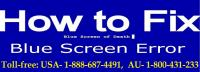 Call 1-888-687-4491 Fix Blue Screen of Death on HP Laptop Windo