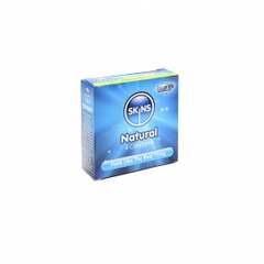 Natural Condoms | Skins Natural Feeling Lubricated Condoms | Lov