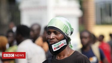 End Sars protests: People 'shot dead' in Lagos, Nigeria