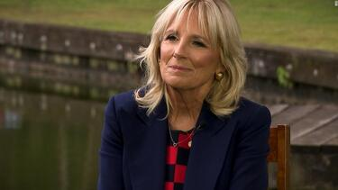 Jill Biden interview: CNN's Jake Tapper asks if Joe is ready to debate Trump - CNN Video